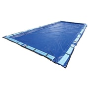Arctic Armor BWC970 Blue Rectangular In Ground 15 Year Winter Pool Cover, 29' x 49'