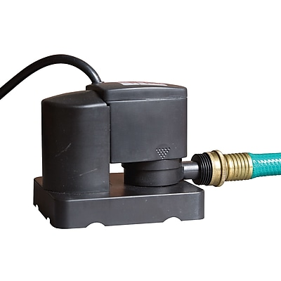 Dredger NW2322 Jr. 350 GPH Above-Ground Pool Winter Cover Pump - Auto On/Off, Black
