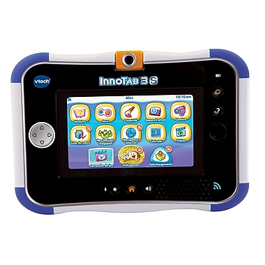 VTech InnoTab 3S Plus The Wi-Fi Learning App Tablets, French