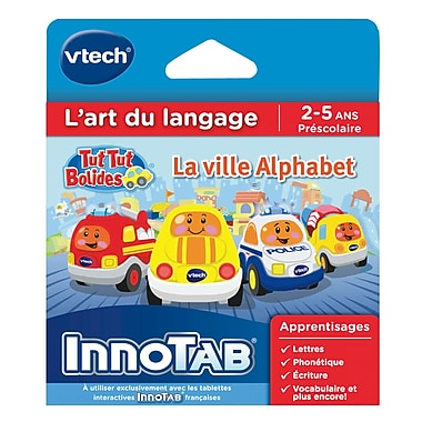 VTech InnoTab Software, Go! Go! Smart Wheels, French