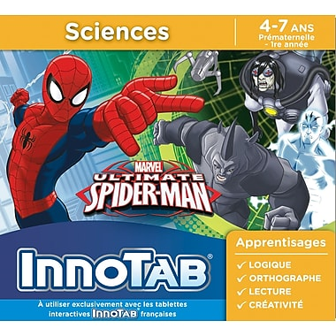VTech InnoTab Software, The Ultimate Spiderman, French