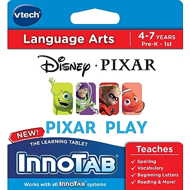 VTech InnoTab Software, Disney/ Pixar Collection