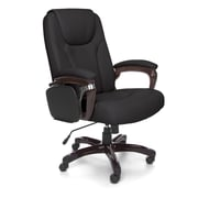 OFM ORO Series Metal Managers Office Chair, Fixed Arms, Black (845123039182)