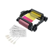 Badgy Evolis Ribbon for Badgy1 printer and 1 Cleaning Kit