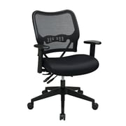 Space AirGrid Chair with Mesh Seat, Adjustable Arms and Seat Slider