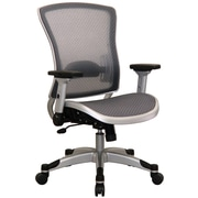 Space Professional Light AirGrid Back and Seat Chair with Adjustable Arms