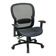 Space Matrix Mesh Back and Seat, Big and Tall, Black