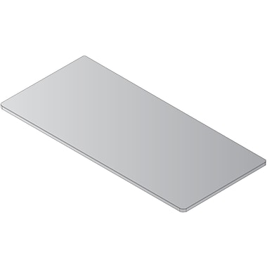 Office Star – Surface de table de formation, gris (842T25-G)