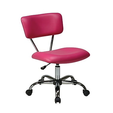 Avenue Six Vista Task Office Chair, Pink