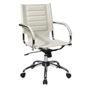Office Star Trinidad Office Chairs with Fixed Padded Arms