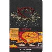 Moleskine The Hobbit Limited Edition Pocket Plain Notebook, Black