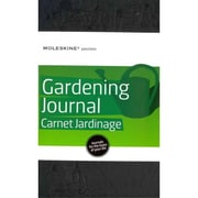 Moleskine Passion Gardening Journal Large, Black
