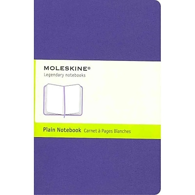 Moleskine Classic Pocket Plain Notebook, Brilliant Violet