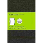 Moleskine Pocket Reporter Plain Notebook, Black