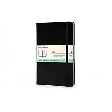 Moleskine Classic Music Notebook Large, Black