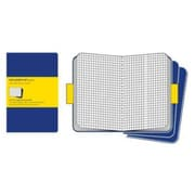 Moleskine Cahier Journal Square Notebook Extra Large, Blue