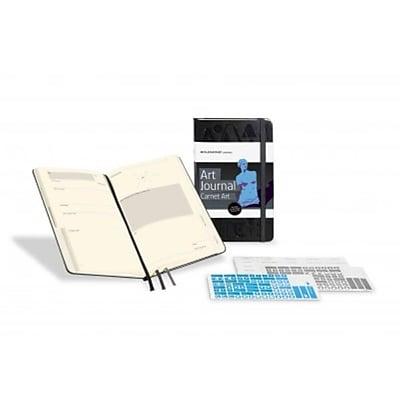 Moleskine Passion Art Journal Notebook Large, Black