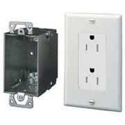 Legrand Duplex Outlet Kit w/ Surge Protection