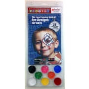 RUBY RED PAINT, INC. Eye Designs for Boys Water Based Paint