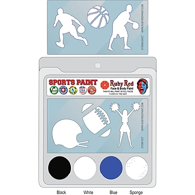 RUBY RED PAINT, INC. College Sports Face Paint; Duke