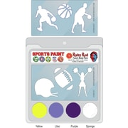 RUBY RED PAINT, INC. College Sports Face Paint; LSU