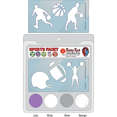 RUBY RED PAINT, INC. College Sports Face Paint; Kansas State