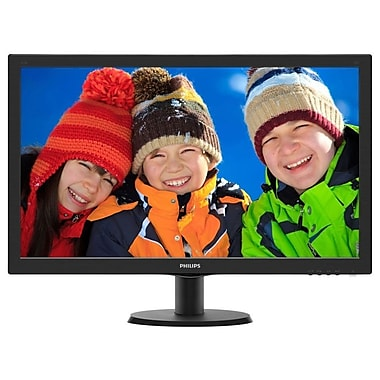 "Philips 273V5LHSB 27"" LED Monitor with HDMI and 1ms"