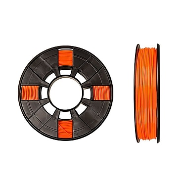 MakerBot 1.75 mm PLA Filament, Small Spool, 0.5 lb., True Orange
