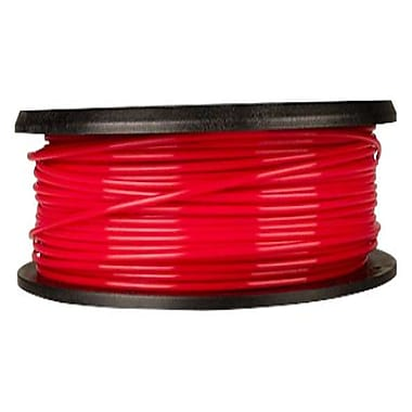 MakerBot 1.75 mm PLA Filament, Small Spool, 0.5 lb., True Red