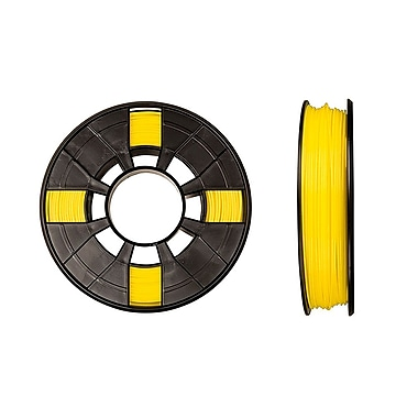MakerBot 1.75 mm PLA Filament, Small Spool, 0.5 lb., True Yellow