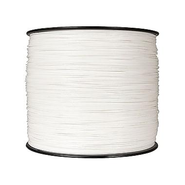 MakerBot – Filament en plastique PLA, 1,75 mm, bobine très grand format, 10 lb, blanc pur