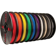 MakerBot 1.75 mm PLA Filament, Large Spool, 10/Pack