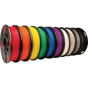 MakerBot 1.75 mm PLA Filament, Small Spool, 10/Pack