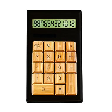 Impecca Standard Function Calculator, Black & Ivy