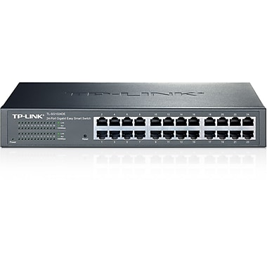 TP-LINK – Commutateur Easy Smart Gigabit 24 ports (TL-SG1024DE)