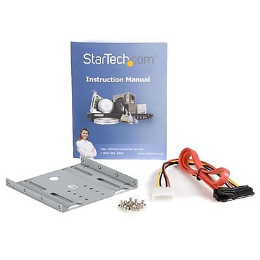 StarTech® 2.5in SATA Hard Drive to 3.5in Drive Bay Mounting Kit