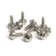 StartTech M5 Mounting Screws and Cage Nuts for Server Rack Cabinet
