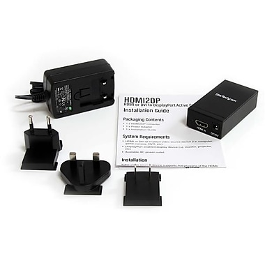 StarTech ® Convertisseur actif HDMIMD ou DVI vers DisplayPortMD