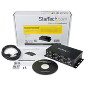 StarTech.com 8 Port USB to DB9 RS232 Serial Adapter Hub, Industrial DIN Rail and Wall Mountable