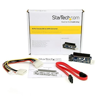 StarTech.com 40 Pin Female IDE to SATA Adapter Converter
