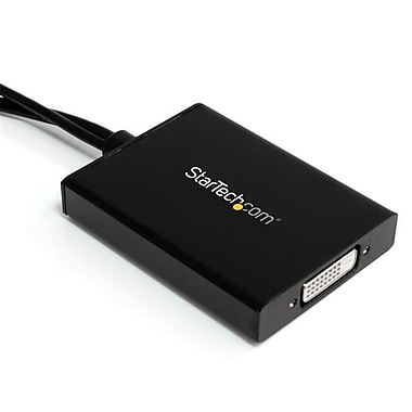 StarTech® Mini DisplayPort to DVI Dual-Link Active Adapter, USB Powered