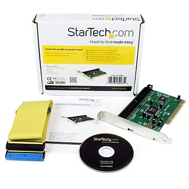 StarTech.com 2 Port PCI IDE Controller Adapter Card