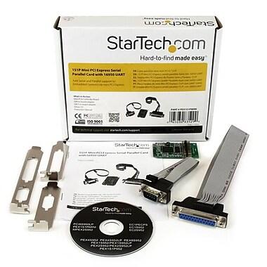 StarTech.com – Carte Mini PCI Express à 1 port série et à 1 port parallèle avec 16950 UART