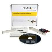 Star Tech ® Carte contrôleur 2 ports SATA 6Gbps PCI Express SATA