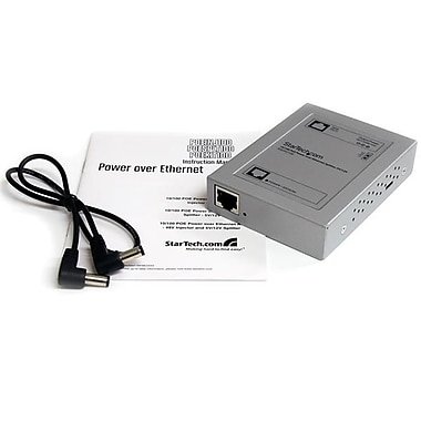 StarTech.com 10/100 PoE Power over Ethernet Splitter 5V/12V