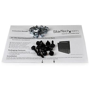 StarTech – Installation sur bâti en acier pour serveur, montable sur mur, 4U, 19 po