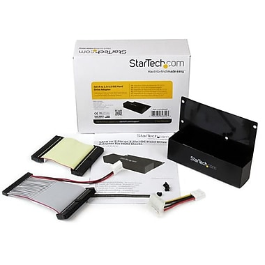StarTech® SATA to 2.5in or 3.5in IDE Hard Drive Adapter for HDD Docks