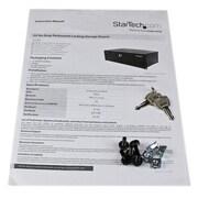 StarTech® 3U 9in Deep Rackmount Locking Storage Drawer