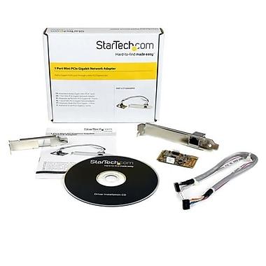 StarTech.com – Carte adaptateur réseau Mini PCI Express Gigabit Ethernet NIC