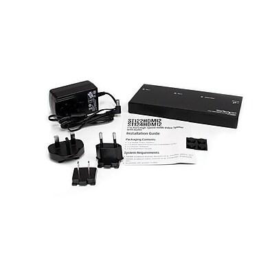 StarTech ® Répartiteur vidéo à 2 ports HDMIMD à haute vitesse et amplificateur de signal